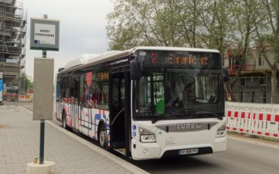Modification trajet de la ligne de bus 404