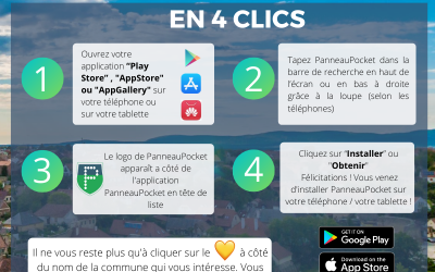 PANNEAUPOCKET notre application mobile