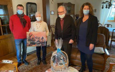 Anniversaires : 85 et 90 bougies pour Paul et Jacqueline KIEFFER