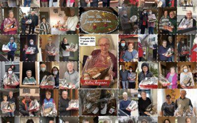 Distribution des paniers de Noël aux aînés